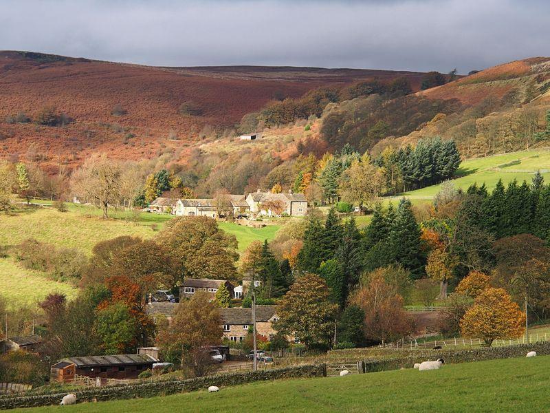 Upper Hurst Farm above Gatehouse
